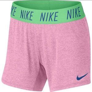 Girls Nike DRI-FIT shorts
